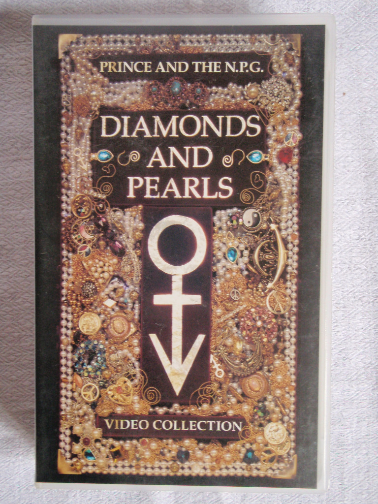 Cassette vhs, Prince, Diamonds and pearls