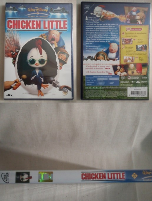 Chicken little - Walt Disney - N° 82
