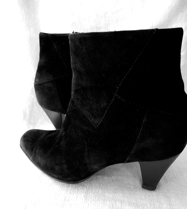 Bottines noires PETER KAISER, T39