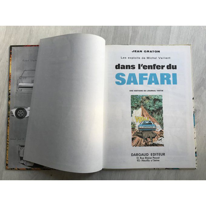 Michel Vaillant, tome 27, Dans l'enfer du Safari